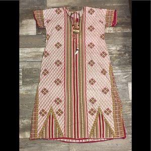 Vintage 70's Multicolor Boho Dress